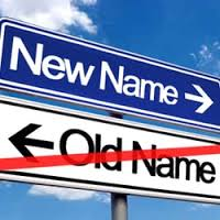 changing your married name, changing married name maiden name, changing my married name